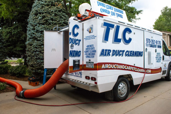 Truck Mounted Air Duct Cleaning
